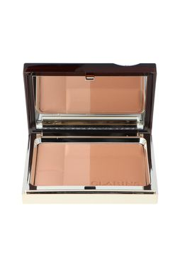 Clarins Bronzing Duo Mineral Powder Compact 02 Puder mineralny