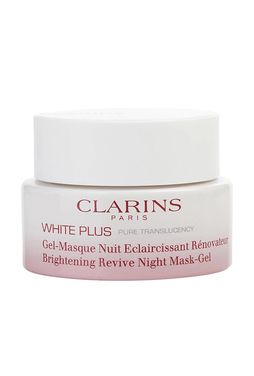 Clarins White Plus Pure Translucency Brightening Revive Night Mask-Gel Żelowa maska rozjaśniająca do twarzy