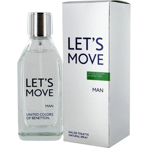 Benetton Let'S Move For Men Woda toaletowa