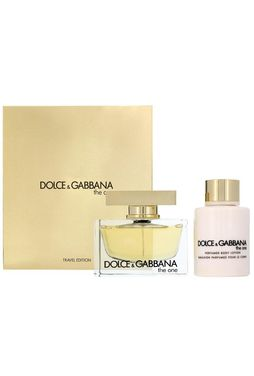 Set Dolce & Gabbana The One Edp 75ml + Body Lotion 100ml (Travel)