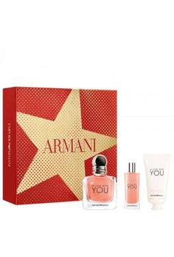 Giorgio Armani In Love With You Zestaw