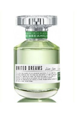 Flakon Benetton United Dreams Live Free Edt 80ml
