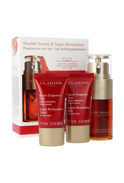 Clarins Double Serum & Super Restorative Zestaw